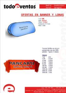 BANNER Y LONAS by TODOEVENTOS