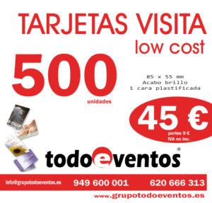 TARJETAS DE VISITA by TODOEVENTOS