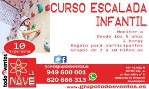 CURSO ESCALADA INFANTIL by TODOEVENTOS