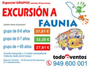 excursion FAUNIA GRUPOS