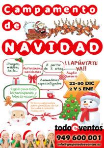 CAMPAMENTO NAVIDAD by TODOEVENTOS web